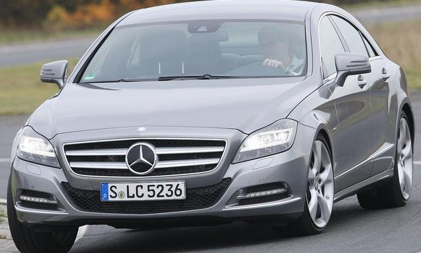 Mercedes CLS 350 CDI BlueEFFICIENCY Frontansicht