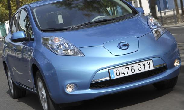 Nissan Leaf Leistung Höchstgeschwindigkeit