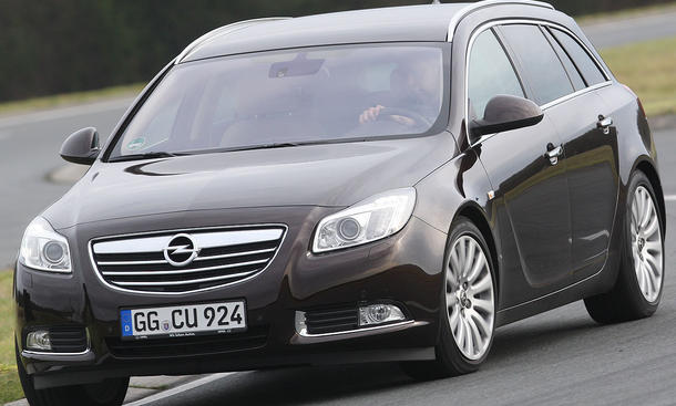 Opel Insignia Sports Tourer 2.0 CDTI Frontansicht