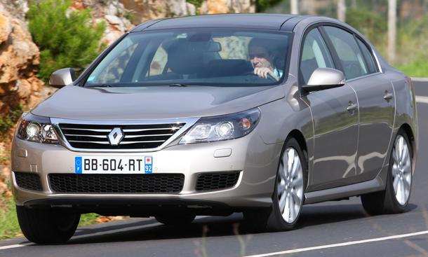 Renault Latitude V6 dCi 240 FAP Markteinführung