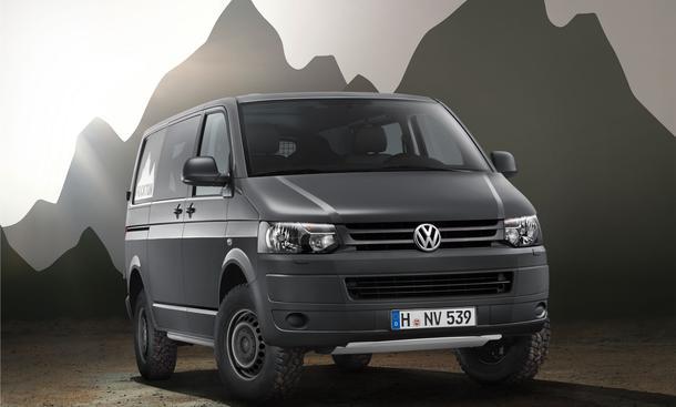 VW Rockton Transporter Kombi mit Allradantrieb