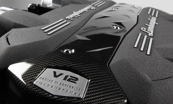 Neuer Lamborghini V12-Motor Zündfolge