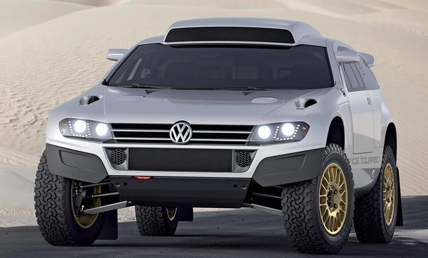 VW Race Touareg 3 Qatar Motor Show 2011 Wüstenrenner
