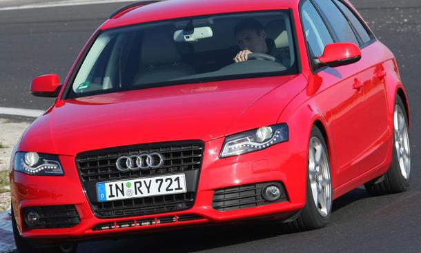 Audi A4 Avant 2.0 TDI sparsamer Audi A4