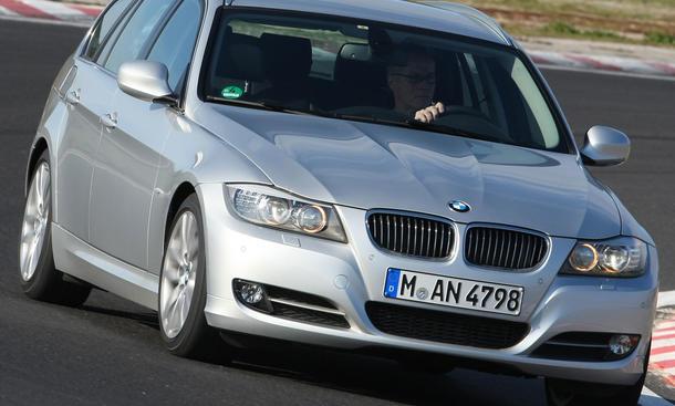 BMW 318d Touring im Vergleichstest