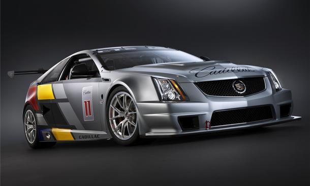 Cadillac CTS-V Coupe Rennversion Comeback im Motorsport