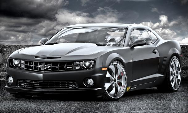 Chevrolet Camaro SS Black Cat von Felge Speed Box V8-Motor mit 625 PS