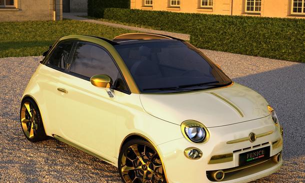 Fenice Milano Fiat 500 C La Dolce Vita Tuner