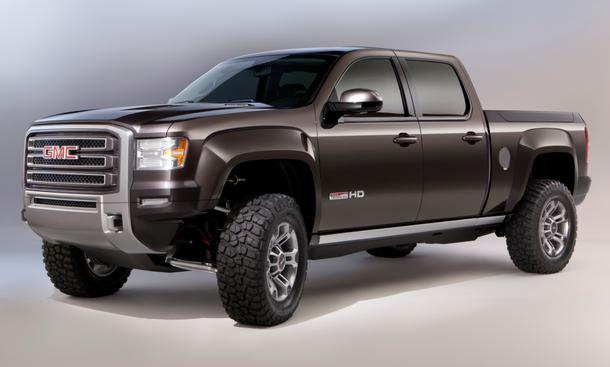 GMC Sierra All Terrain HD concept: Neue Pick-up-Studie in Detroit 2011