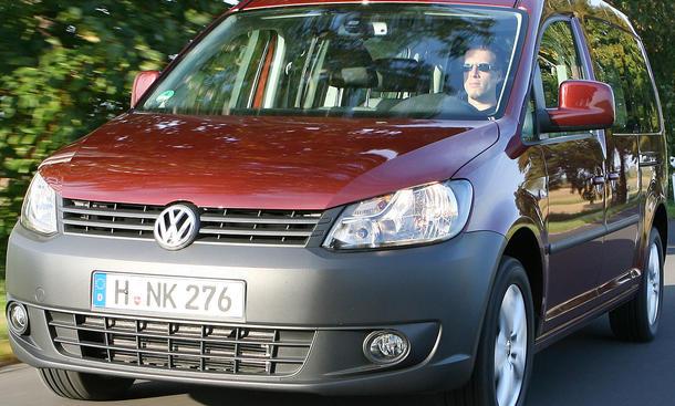 Familientransporter: VW Caddy Maxi 1.6 TDI DSG