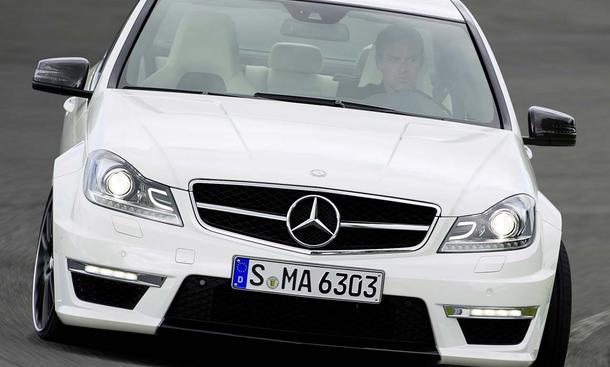Mercedes C 63 AMG mit Facelift