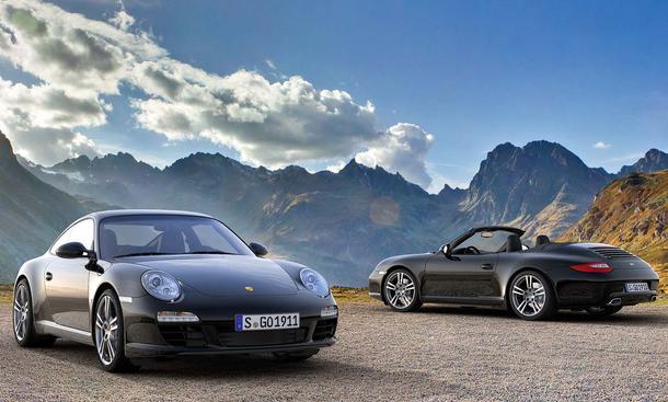Porsche 911 Black Edition: Limitiertes Sondermodell