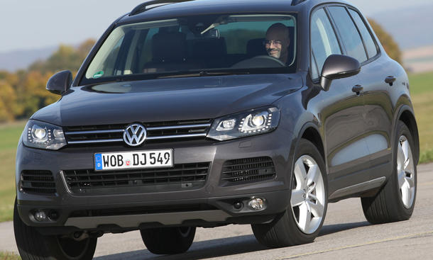 VW Touareg V6 TDI BlueMotion Technology Geländewagen