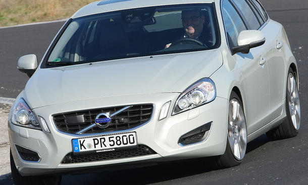 Volvo V60 D3 Frontansicht