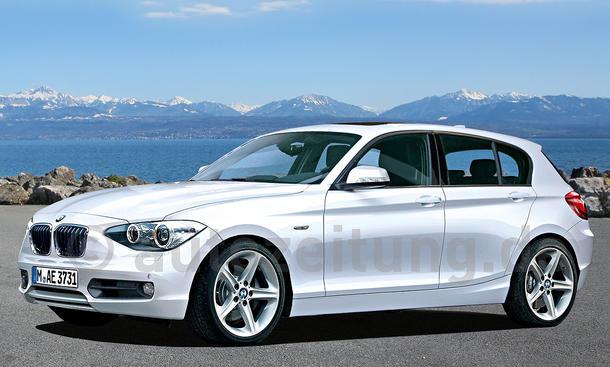 Der neue BMW 1er - Rendering - Premiere zur IAA 2011