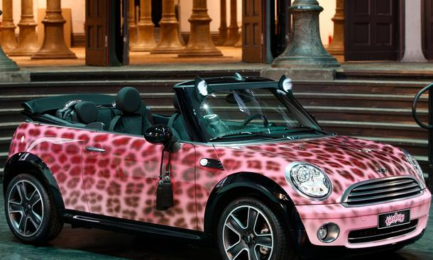 Mini Cooper Cabrio - The Blonds for Katy Perry