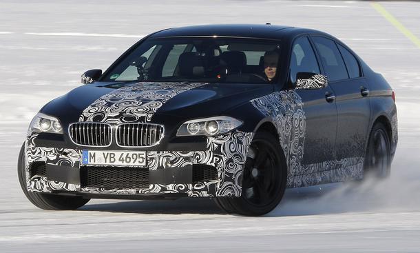 Bilder BMW M5 Beschleunigung
