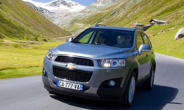 Bilder Chevrolet Captiva 2.2 D Facelift