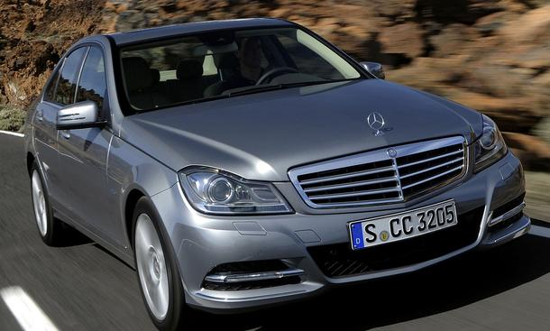 Bilder Mercedes C 350 BlueEFFICIENCY Facelift Neuerungen
