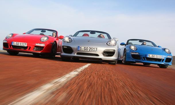 Bilder Porsche Cabrio Vergleich