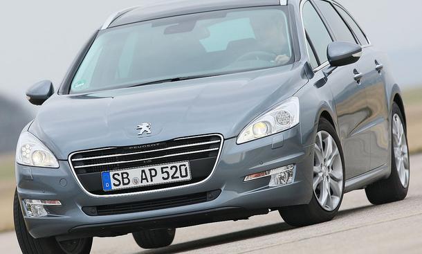 Bilder Peugeot 508 SW 155 THP Design