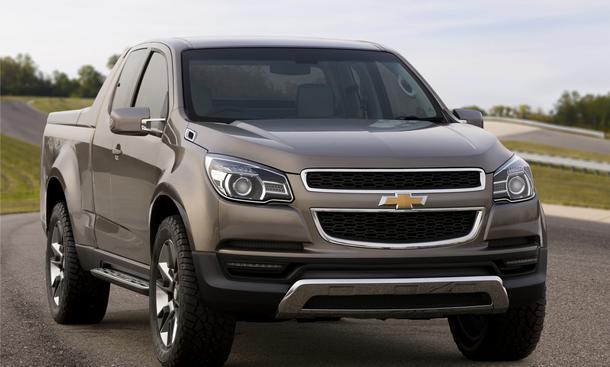 Studie Chevrolet Colorado Concept debütiert auf der Bangkok Auto Show 2011