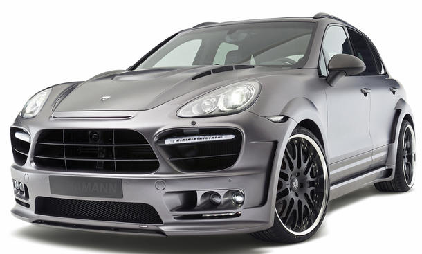 Hamann Guardian Porsche Cayenne Turbo mit 550 PS