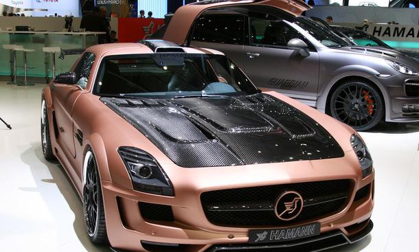 Hamann Hawk Mercedes SLS AMG Supersportwagen