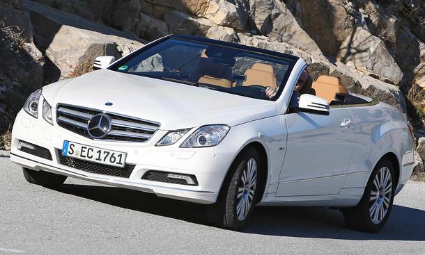 Mercedes E 250 CGI Cabrio BlueEfficiency Preis