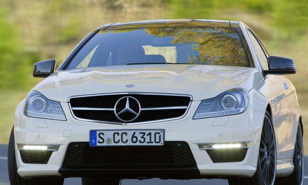 Das neue Mercedes C 63 AMG Coupé