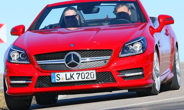 Der neue Mercedes SLK