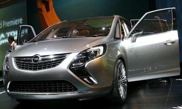 Opel Zafira Tourer Concept Autozeitung
