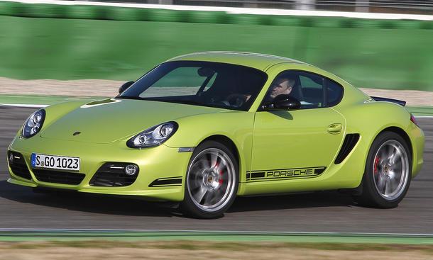 Porsche Cayman R PDK Seitenansicht Viel Freude für den Fahrer