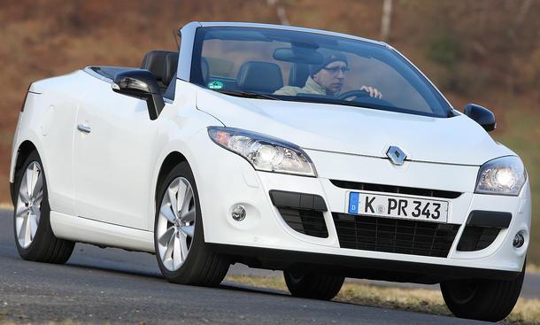 Renault Mégane Coupe Cabriolet dCi 130 FAP Frontansicht