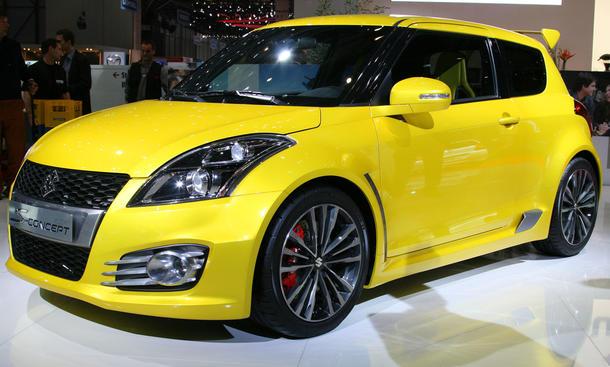 Suzuki Swift S-Concept möglicher Swift Sport Nachfolger