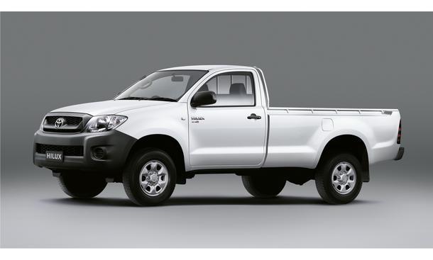Toyota Hilux Pick-up Single Cab mit Allrad