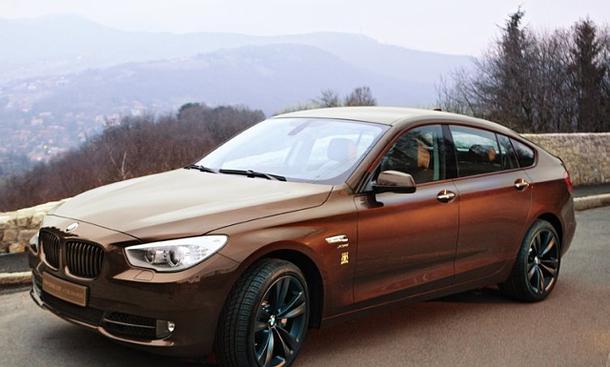 BMW 5er GT von Trussardi limitiertes Sondermodell