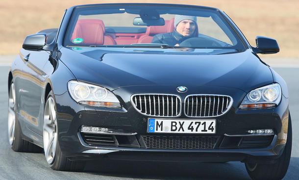 BMW 650i Cabrio ab 94.300 Euro