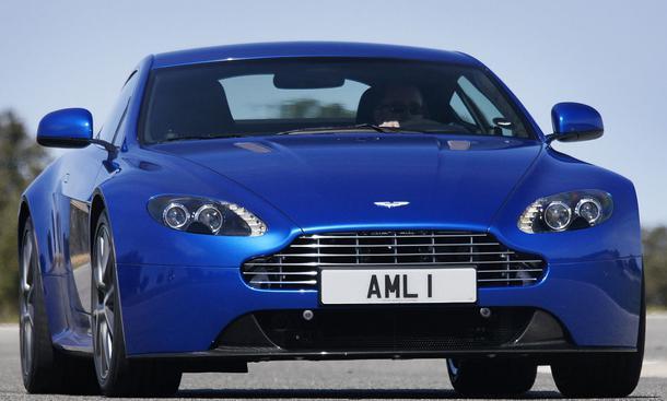 Bilder Aston Martin V8 Vantage S Leistung