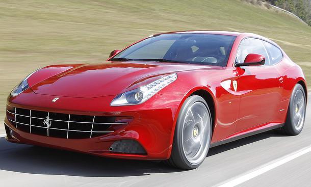 Bilder Fahrbericht Ferrari FF Front