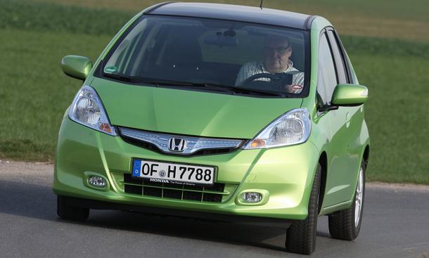 Bilder Honda Jazz Hybrid Antrieb
