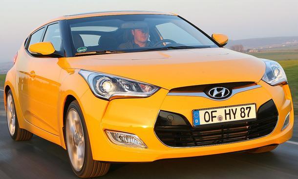 Bilder Hyundai Veloster 1.6 GDI Fahreigenschaften
