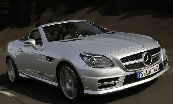 Bilder Mercedes SLK 250 BlueEFFICIENCY Optik