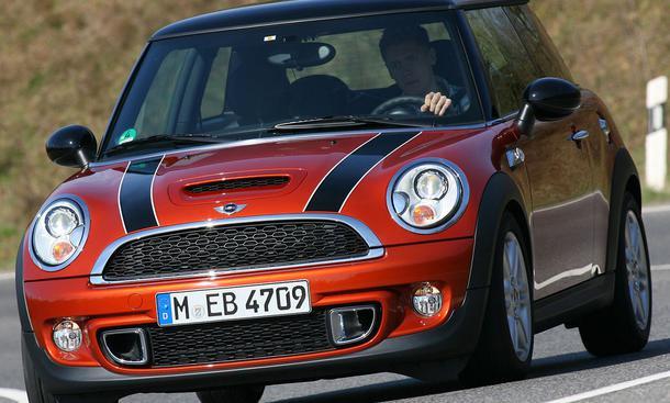 Bilder Mini Cooper SD Höchstgeschwindigkeit