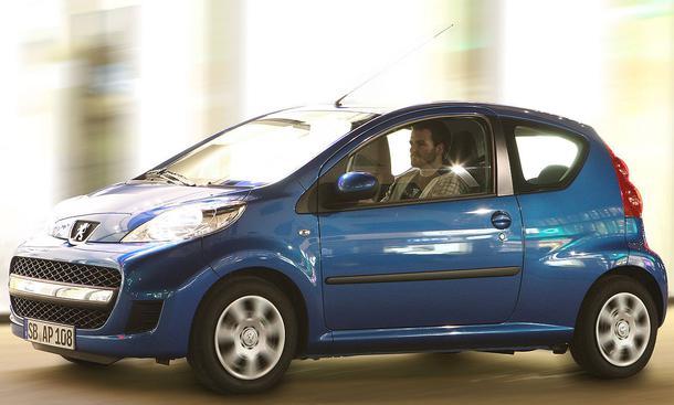 Bilder Peugeot 107 Petit Filou 70 Marktstart