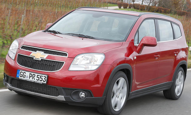 Chevrolet Orlando 2.0 LTZ SUV-Optik