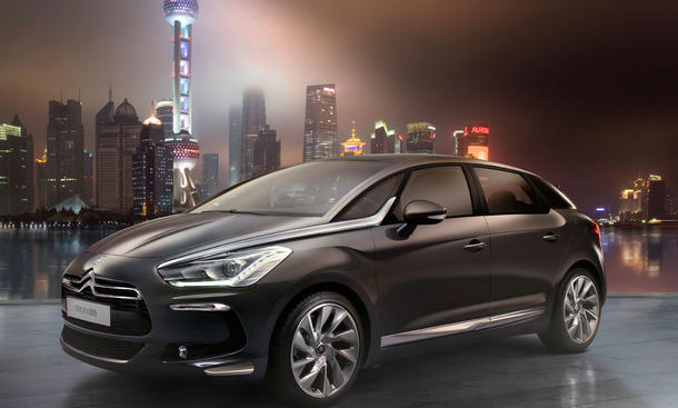 Citroën DS5: Crossover