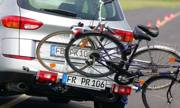 Fahrradträger-Test Heckträger Modelle im Test der AUTO ZEITUNG