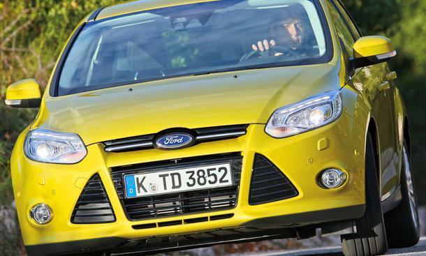 Bilder Ford Focus 2.0 TDCi Die Front des neuen Focus
