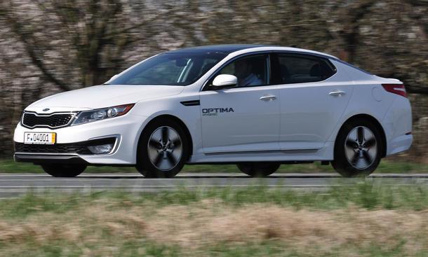 Kia Optima Hybrid Hybrid-Limousine